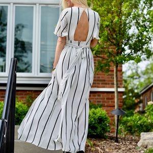 Socialite Romper with Skirt Overlay